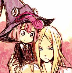 Soul Eater ~~ Angela & Mifune. Soul Eater Stein, Soul And Maka, Anime Soul, Manga Anime, Anime Art, The Garden Of Words, Otaku, Durarara, Shinigami