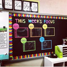 60 Gorgeous Classroom Design Ideas for Back to School Gorgeous classroom design ideas for back to school 12 5th Grade Classroom, New Classroom, Classroom Design, Year 3 Classroom Ideas, Preschool Classroom Themes, Classroom Bulletin Boards, Classroom Setting, Decorating Ideas For Classroom, Themes For Classrooms