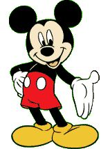 Disney Mickey Mouse Clipart--free scrapbooking, planning binder clip art.
