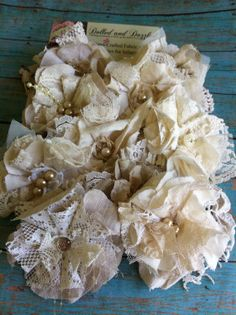 SET of 10/ Made To Order/ Wedding Decorations/ by DolledandDazzled, $38.50