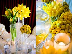 Having a spring wedding, could almost persuade me to have a yellow theme. Daffodils and chicks hehe!