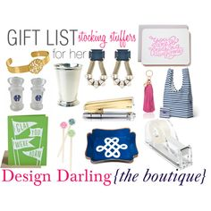 Gift List 2013: Stocking Stuffers for Her | Holiday gift ideas