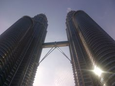 towers in the morning