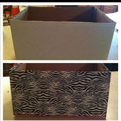 cardboard box decorating ideas organizing using decorated boxes on
