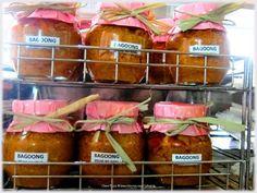 Bagoong na Itlog ng Isda, Pancit Pusit sa Bilao, and leche flan at Asiong's Carinderia