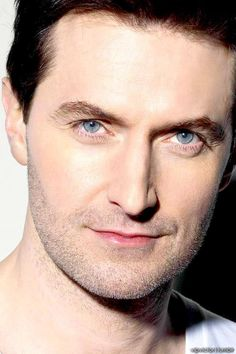 This guy again.  I absolutely can't resist a guy with dark hair and beautiful blue eyes.