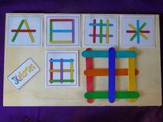 Motor Skills Activities, Toddler Learning Activities, Games For Toddlers, Montessori Activities, Craft Activities For Kids, Teaching Kids, Kids Learning, Preschool Curriculum, Preschool Math