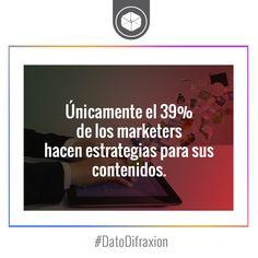 La mayoría de los contenidos se publican sin planeación. #Marketer #MarketingDigital #DatoDifraxion