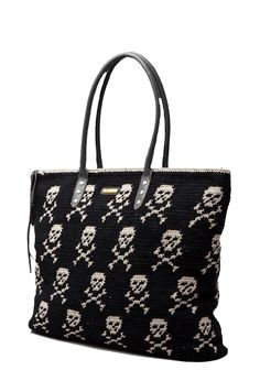 Rebecca Minkoff East West Skull Tote in Black & White from REVOLVEclothing