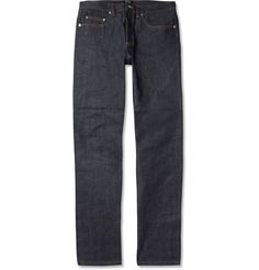 A.P.C. - New Standard Regular-Fit Dry Selvedge Denim Jeans|MR PORTER