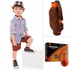 Golf-Inspired Clothing and Accessories For Boys.