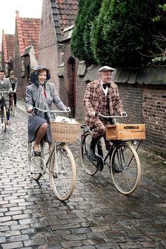 Aww quiero pasear en bici con mi abuelo!