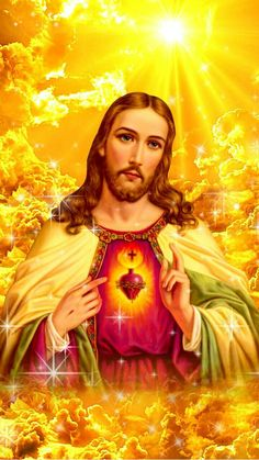 Lord Jesus save us all. Bless you! Jesus Our Savior, Heart Of Jesus, Blessed Mother Mary, Blessed Virgin Mary, Pictures Of Jesus Christ, Jesus Wallpaper, Jesus Painting, Christ The King, Christian Art