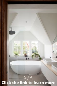 With an extensive portfolio of residential projects throughout West London over more than a decade, we see this part of London as our backyard. Our clients have made us the West London architects of choice, empowering us to change West London's architectural landscape house by house. Repin & tap the link to learn more about this period renovation. Classic Bathroom, Modern Bathroom, Bathroom Styling, Bathroom Interior Design, Best Bathroom Flooring, Countertop Makeover, Self Build Houses, House Extensions, West London