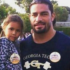 Roman Reigns & His Daughter
