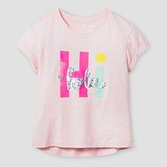 Girls' Graphic Tee Cat & Jack™ - Pink : Target
