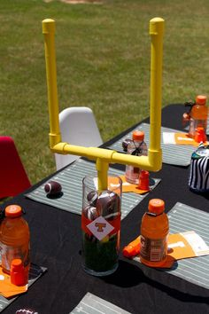 1000+ ideas about Football Party Centerpieces on Pinterest ...