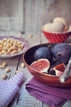 pieprz czy wanilia blog kulinarny: Figi i migdały...