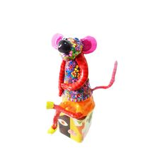 Mouse sculpture,mouse Art, figurine mouse, modern mouse ,polymer clay mouse, mouse shelf sitter, collectible mouse .mouse decor ,decoration