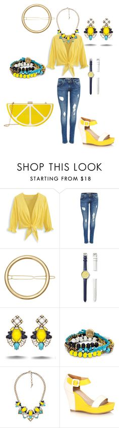 """Get Your Lemon On!""  on Polyvore featuring Chloe + Isabel"