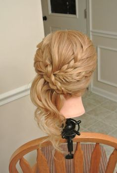 I am obsessed with braids.
