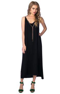 Платье-комбинация с металлическим ожерельем FIVEPLUS 118796, купить за 5980 руб в интернет-магазине TopTop.ru
