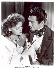 Camille - Robert Taylor and Greta Garbo