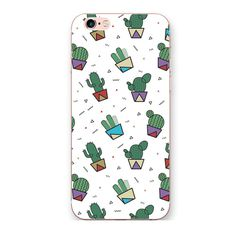 iphone 7plus case Cactus cute silicone 3d 6s All mobile phone protective sleeve for iphone 6splus soft girls ins | iPhone Covers Online