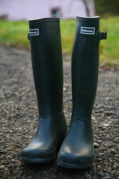 Barbour Wellies - all natural rubber