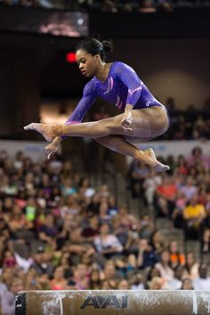Gabrielle Douglas  July 25, 2015 - Senior competition at the 2015 Secret U.S. Classic at Sears Centre Arena in Hoffman Estates, Ill. Photo by John Cheng