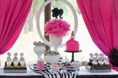 Resultado de imagem para mesa de festa da barbie