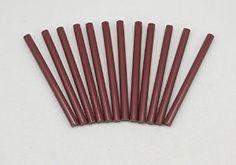 """Amazon.com - GlueSticksDirect Burgundy Faux Wax Glue Stick mini X 4"""" 12 Sticks -"""
