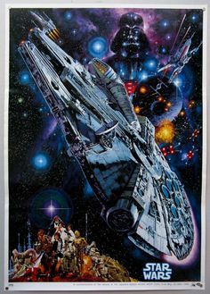 Star Wars - 1982 Japanese Re-Release Film Poster