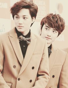 Kaisoo shipper here Omo~~ so adorableee #Kaisoo