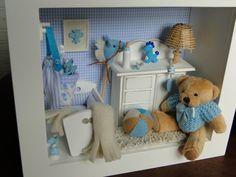 Little Boy Nursery Scene