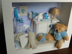 Little Boy Nursery Scene