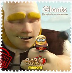 Clash of Clans Minions ~ Giants