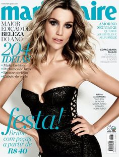 Flávia Alessandra  Marie Claire Magazine Cover [Brazil] (December 2012)