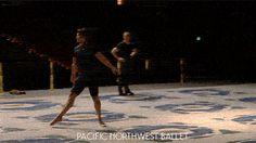 PNB principal dancer Batkhurel Bold in company class. Ballet Boys, Ballet Class, Ballet Dance, Pacific Northwest Ballet, Nudes, Gymnastics, Dancer, Gifs, Blog