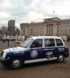 Protect My Bubble #taxi #livery  http://www.londontaxiadvertising.com/taxi-advertising-formats/full-liveries/