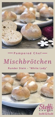 ᐅ Rezept Mischbrötchen ⇒ Stoneware Hamburger, Stoneware, Food And Drink, Baking, Lady, Dinner Rolls Recipe, Baked Goods, Bakken, Burgers