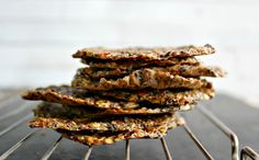 Wholehearted Eats : Flax Veggie Thins and the Easiest Vegan Pate