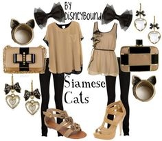 Siamese Cats Outfit. #disney #ladyandtramp