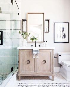 Bathroom Tile Ideas - BECKI OWENS- Designer Spotlight: Tiffany Harris Design