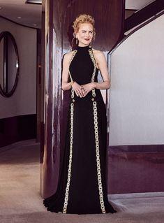 Louis Vuitton Dress, Nice Dresses, Formal Dresses, She Girl, Nicole Kidman, Golden Globes, Beautiful Gowns, Cool Style, Glamour