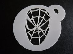 Unique bespoke new 60mm fairy young cookie craft /& face painting stencil