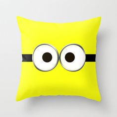 minion Throw Pillow by Cbrocoff on Wanelo