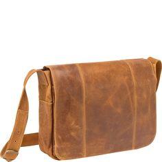 bd1ecde2243c Le Donne Leather Distressed Leather Laptop Messenger Bag - eBags.com  Distressed Leather