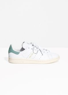 & Other Stories image 1 of adidas Stan Smith in White