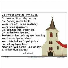 Afrikaans Language, Kids Poems, Rhymes For Kids, Kids Education, Kids And Parenting, Good To Know, Book Lovers, Activities For Kids, Homeschool